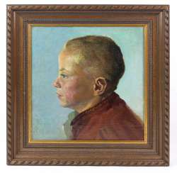 Boy Portrait by unknown artist