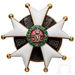 Badge of the 2. Pskovsky Leib Dragoon regiment of her Imperial Majesty Maria Feodorovna, Russia, to 1913/15