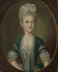 German around 1780, portrait of a woman