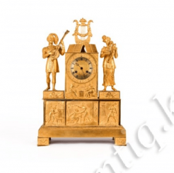 Clock in Empire style