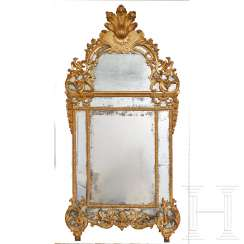Régence wall mirror, 1st half of the 18th century