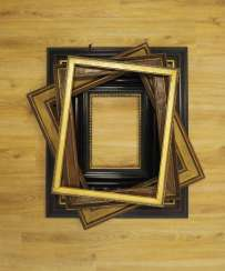 Lot: picture frames.