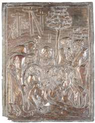 RELIEF PANEL WITH THE LAMENTATION OVER THE DEAD CHRIST