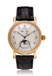 CHRONOSWISS, LUNAR, 18K PINK GOLD, TRIPLE CALENDAR MOON PHASES, REF. CH 9321 R