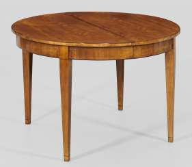 Biedermeier Extending Table