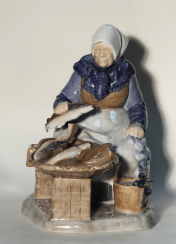 Statuette model A. Locker porcelain of the 20th century
