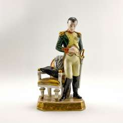 A porcelain figurine of Napoleon, Germany, Rudolf Kämmer, 1953-1972, perfect condition