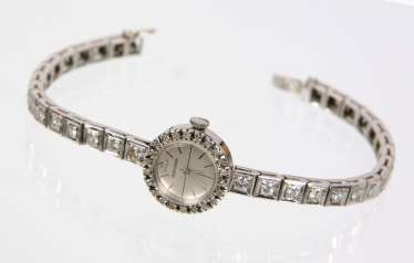 Antique diamond watch, Jaeger LeCoultre, around 1920/30
