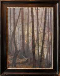 Monogramist KH around 1900, oil canvas, framed