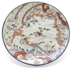 LARGE PORCELAIN ROUND PLATE