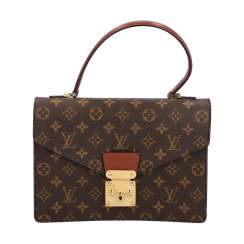 "LOUIS VUITTON VINTAGE shoulder bag ""MONCEAU"", collection 1998."
