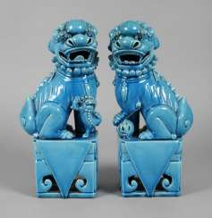 Pair Of Guardian Lions