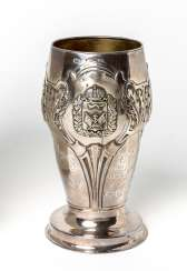 Silver Cup with inscriptions