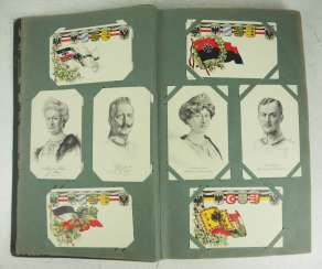 World War 1: postcard album.