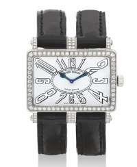ROGER DUBUIS, TOO MUCH, LADIES' 18K WHITE GOLD AND DIAMONDS, NO. 17/28