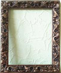 Antique painting frame. Wood, plaster. Restored!