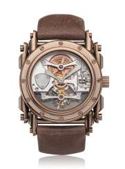 MANUFACTURE ROYALE, ANDROGYNE PURE BRONZE, TOURBILLON