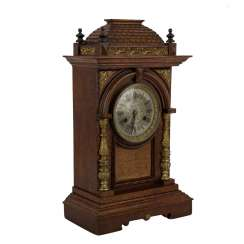 Large STONE table CLOCK