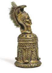 Table bell. Empire Style, End Of 19th Century. Century