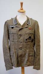 Wehrmacht: field blouse for a sergeant.