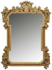 Wall mirror in Baroque style