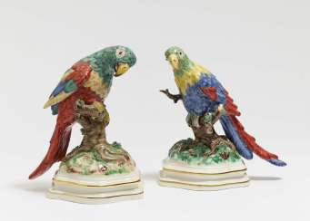 Two parrots (counterparts)