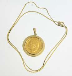Medals Pendant - Yellow Gold 585