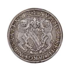 Strasbourg/France - 1 Taler, without indicating the year (1.H. 17. Century),