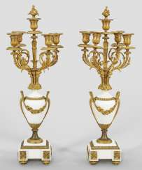 Pair of large girandoles in the Louis XVI style