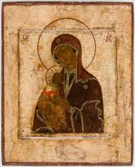 A big icon of the mother of God of the Passion