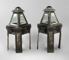 Pair Of Lanterns In The Art Nouveau Style