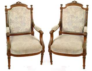 Pair of armchair 1880