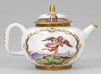 Rare teapot with mythological scenes