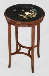 Side table with fine Pietra Dura panel