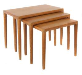 3 Tables Gigognes, Lot De Danemark