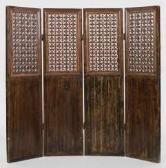 Large Chinese folding screen