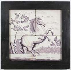 Tile picture Delft 18th century