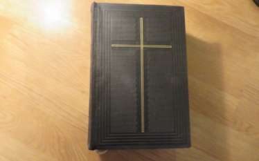 Great Old German Bible Martin Luther King -the Old Testament and the New Testament