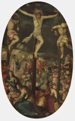 Flemish late 16th century, Golgotha