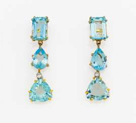 Aquamarine-Diamond-Earrings