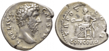 ROMAN EMPIRE DENARIUS 137