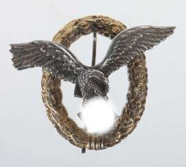 Third Reich pilot badge