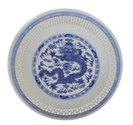 Plate With Dragon Decor, China
