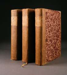 COLLECTION on THE HISTORY of THE PALATINATE of Three books, 'France', France, 19th century. Century