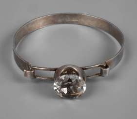 Bangle with rhinestone