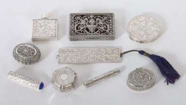 Group Of Silver 20. Century