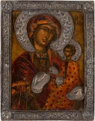 ICON OF THE MOTHER OF GOD HODEGETRIA WITH BASMA Greece