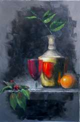 Still life with the Cherry
