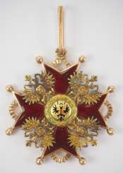 Russia : Imperial and Royal order of Saint Stanislaus, 2. Model, 2. Type (approx. 1841-1917), 2. Class, for Non-Christians.
