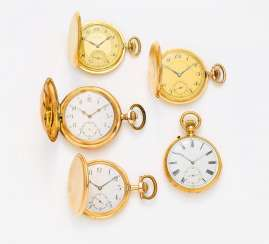 Group Of Twenty-Three Pocket Watches, Switzerland/ Germany,